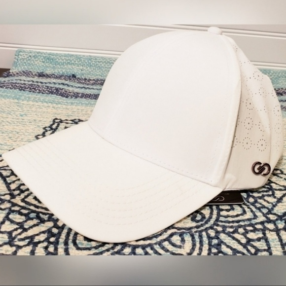 CALIA by Carrie Underwood Accessories - CALIA Carrie Underwood Perforated Side Cap White